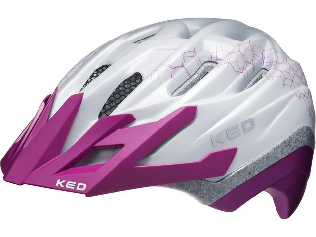 KED Dera II Helmet Kids Pearl Violet